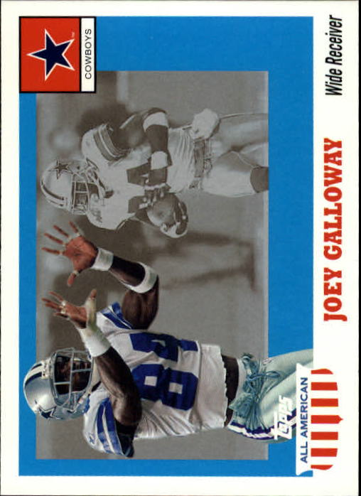 2003 Topps All American #19 Joey Galloway