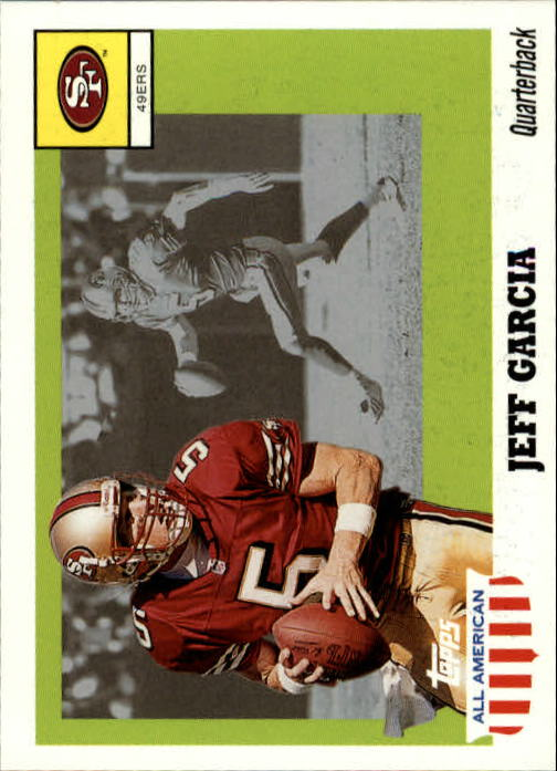 2003 Topps All American #21 Jeff Garcia