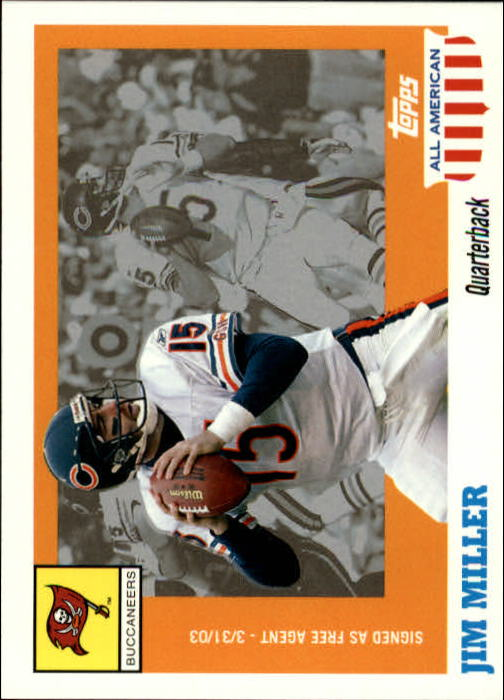 2003 Topps All American #37 Jim Miller