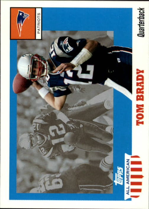 2003 Topps All American #41 Tom Brady