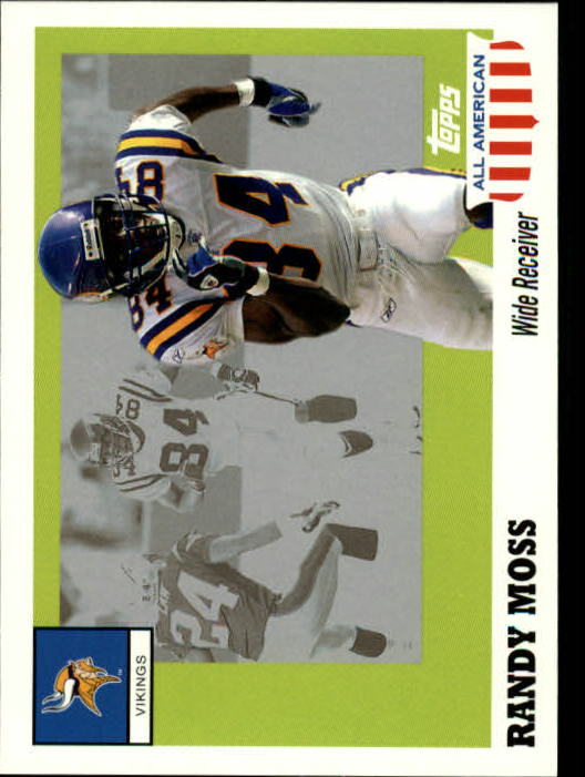 2003 Topps All American #42 Randy Moss