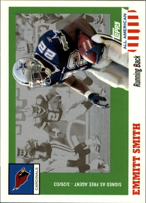 2003 Topps All American #44 Emmitt Smith