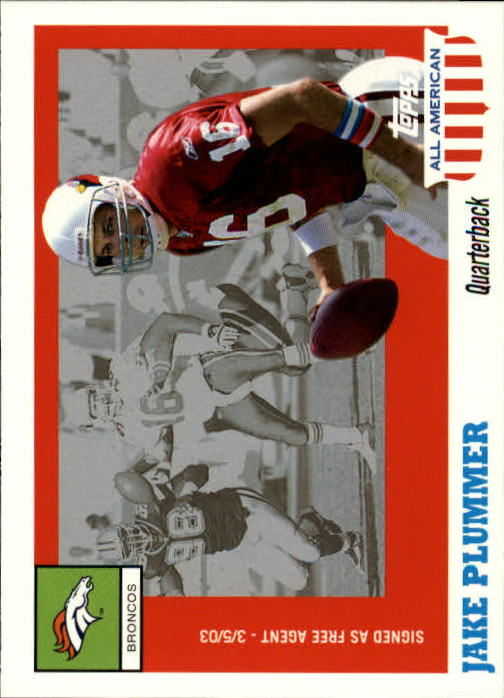 2003 Topps All American #53 Jake Plummer