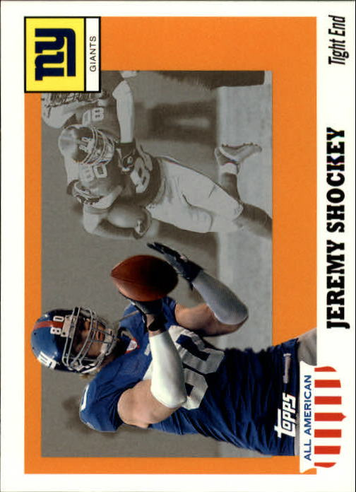 2003 Topps All American #57 Jeremy Shockey