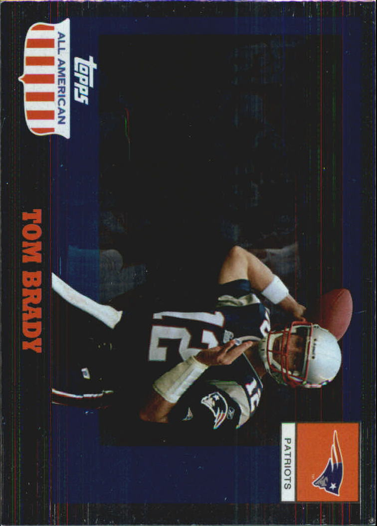 2003 Topps All American Foil #41 Tom Brady