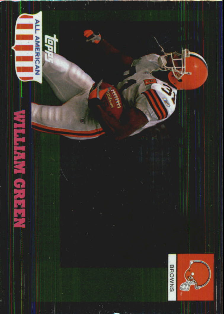 2003 Topps All American Foil #49 William Green