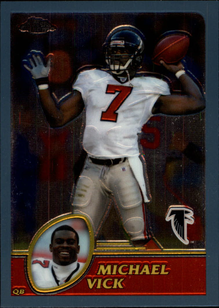 2003 Topps Chrome #1 Michael Vick
