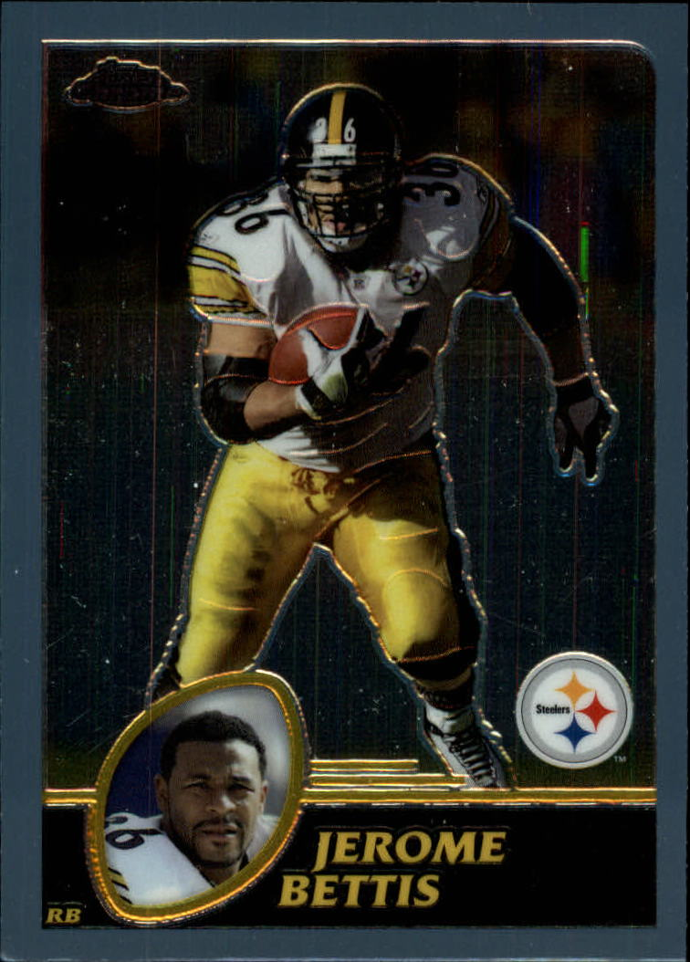 2003 Topps Chrome #8 Jerome Bettis