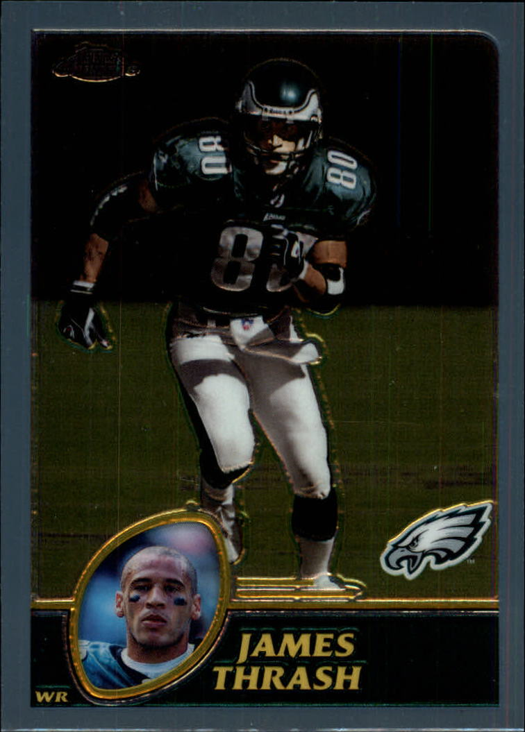 2003 Topps Chrome #18 James Thrash