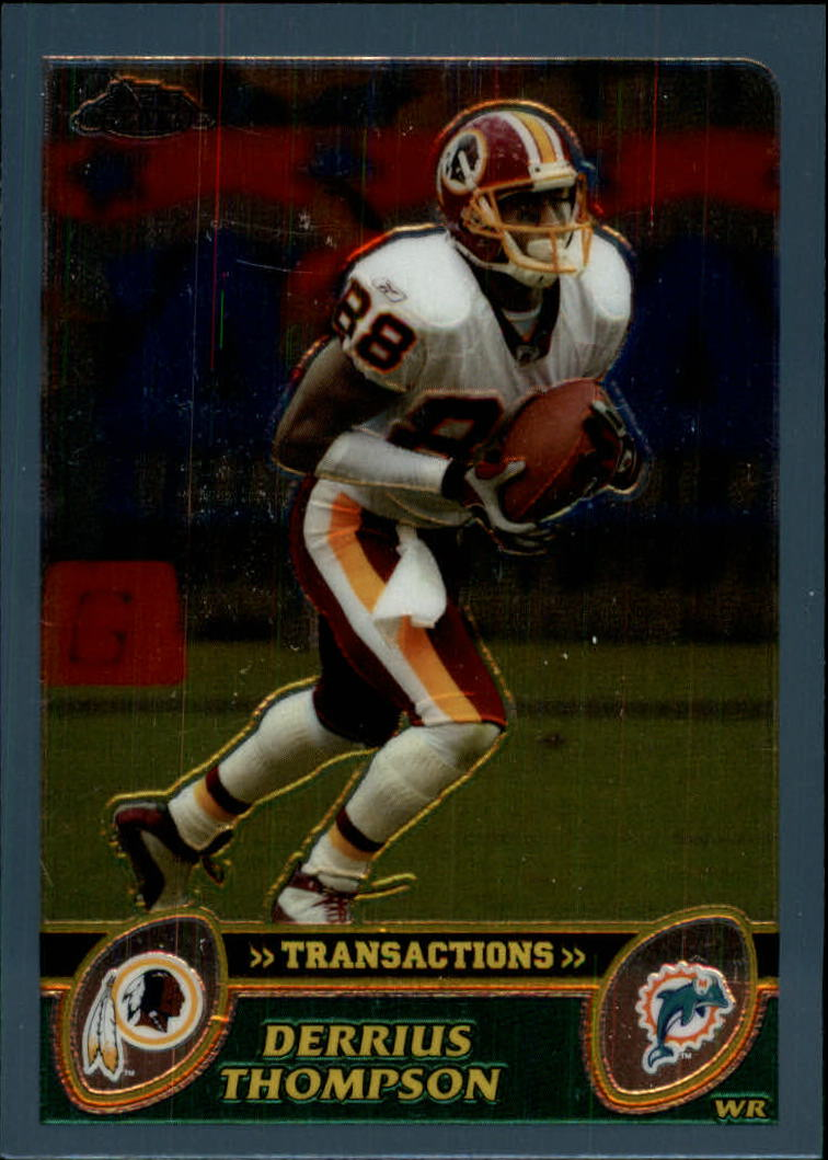 2003 Topps Chrome #29 Derrius Thompson