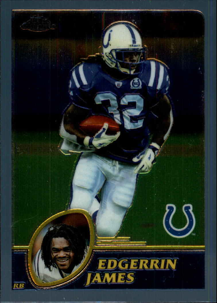 2003 Topps Chrome #37 Edgerrin James