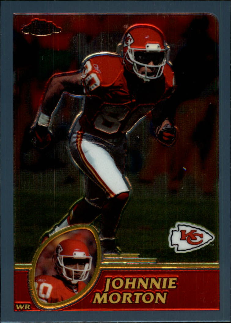 2003 Topps Chrome #82 Johnnie Morton