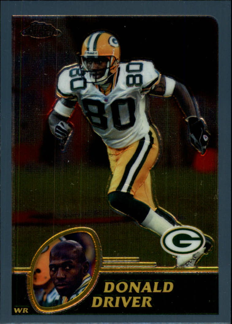 2003 Topps Chrome #84 Donald Driver