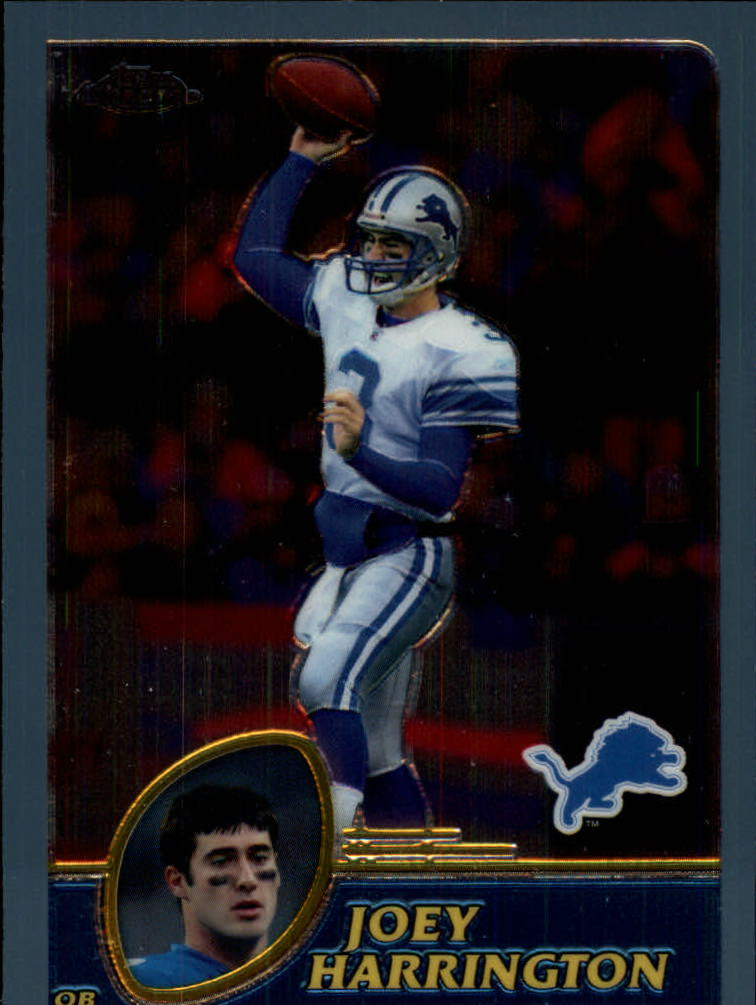 2003 Topps Chrome #85 Joey Harrington