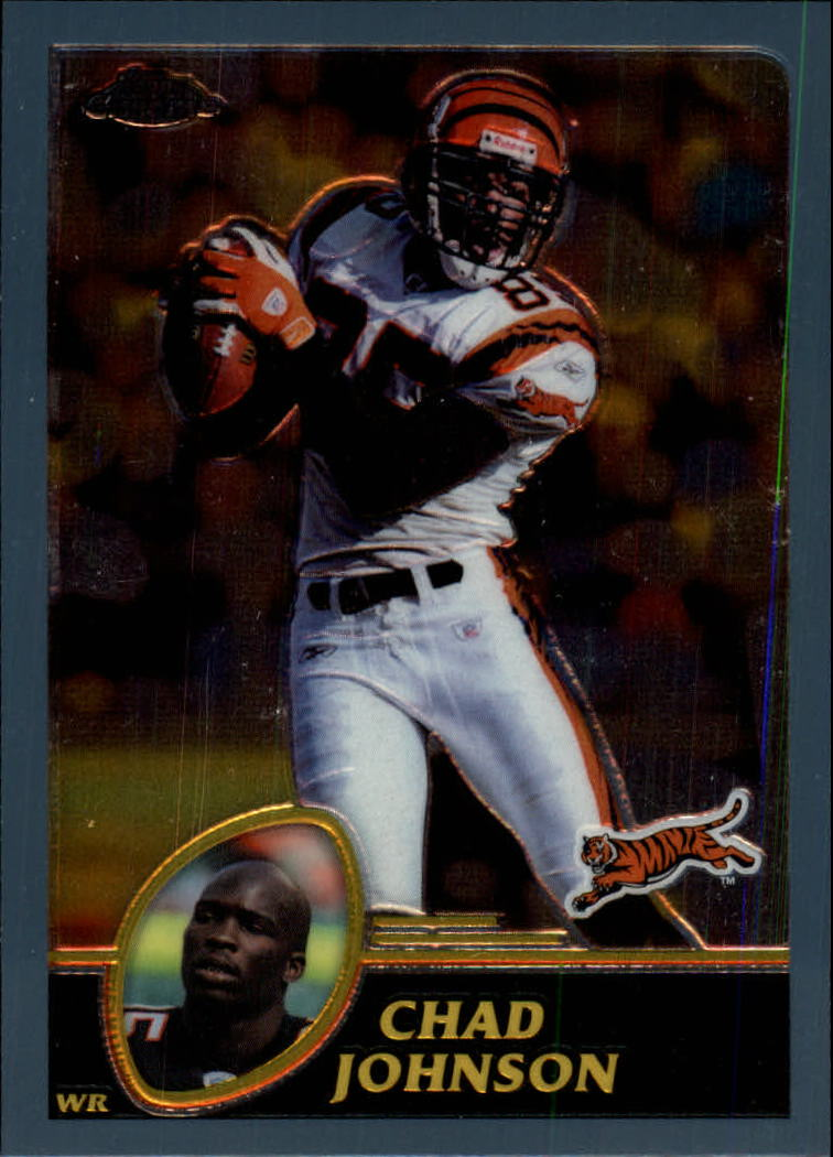 2003 Topps Chrome #91 Chad Johnson