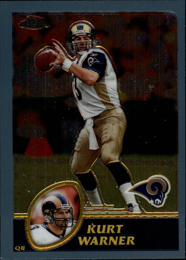 2003 Topps Chrome #117 Kurt Warner
