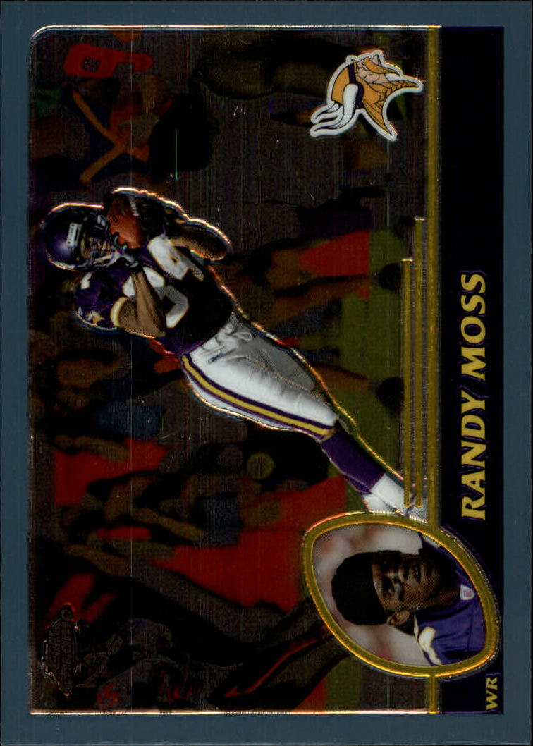 2003 Topps Chrome #123 Randy Moss