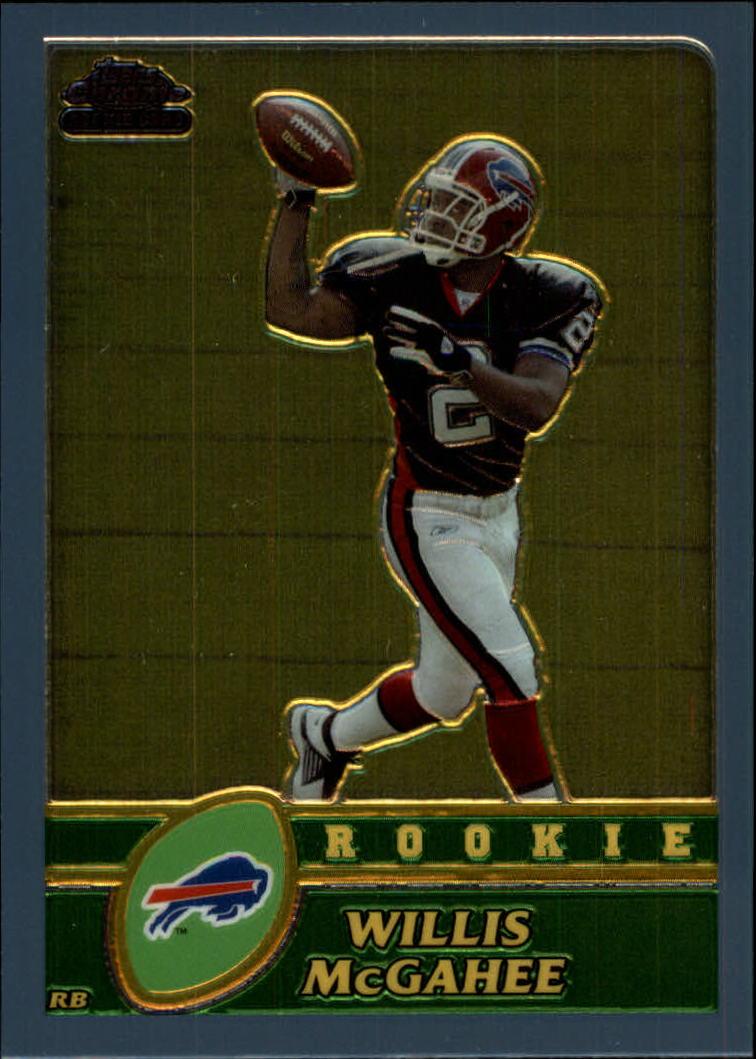 2003 Topps Chrome #215 Willis McGahee RC