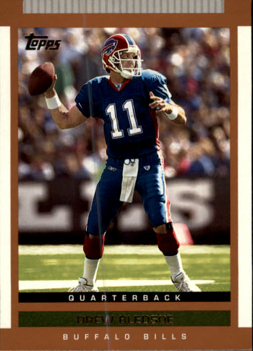 2003 Topps Draft Picks and Prospects #4 Drew Bledsoe