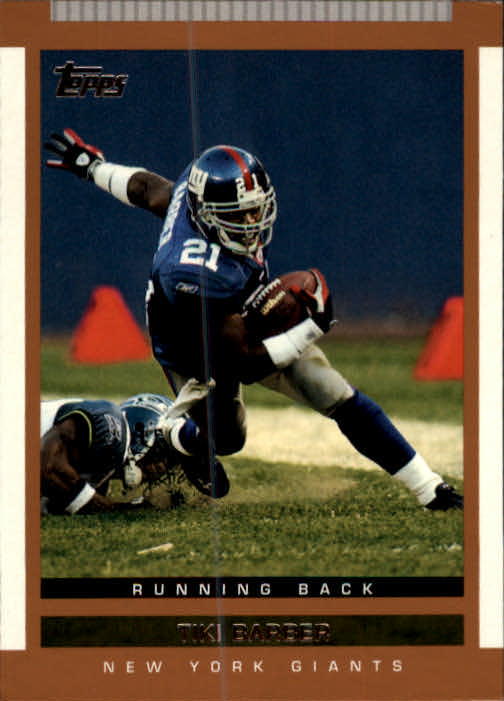 2003 Topps Draft Picks and Prospects #5 Tiki Barber
