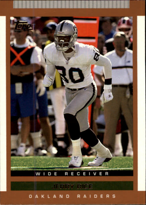 2003 Topps Draft Picks and Prospects #16 Jerry Rice