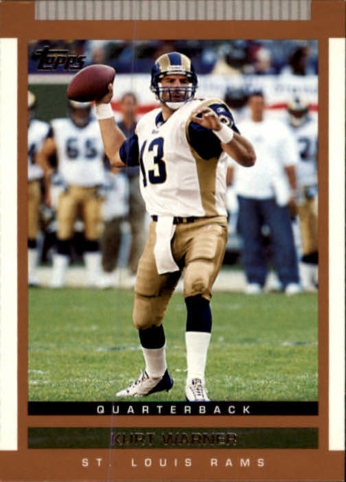 2003 Topps Draft Picks and Prospects #18 Kurt Warner