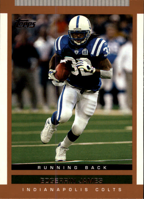 2003 Topps Draft Picks and Prospects #20 Edgerrin James