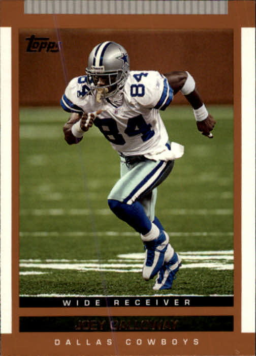 2003 Topps Draft Picks and Prospects #22 Joey Galloway