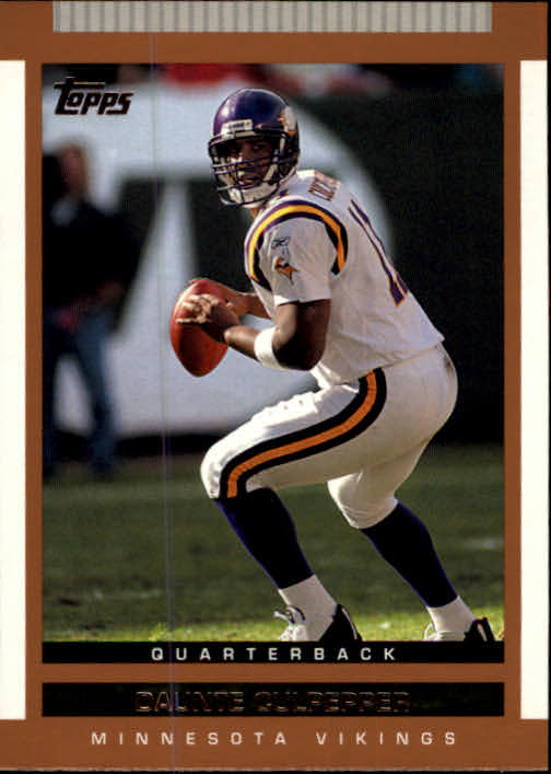 2003 Topps Draft Picks and Prospects #27 Daunte Culpepper