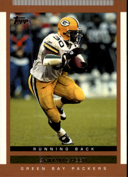 2003 Topps Draft Picks and Prospects #28 Ahman Green