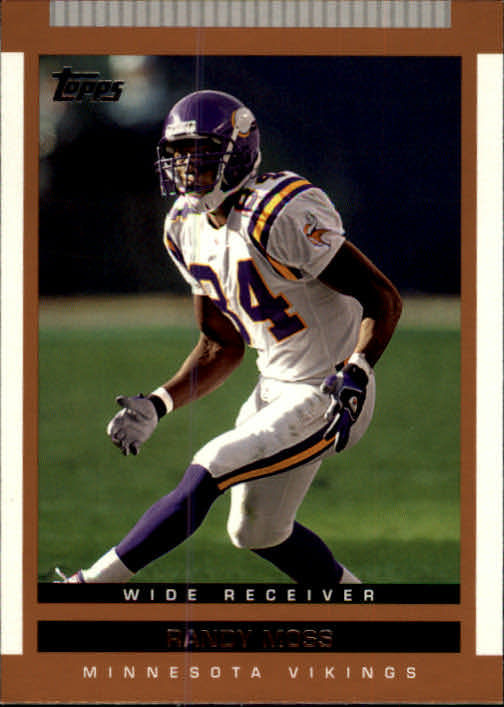2003 Topps Draft Picks and Prospects #35 Randy Moss