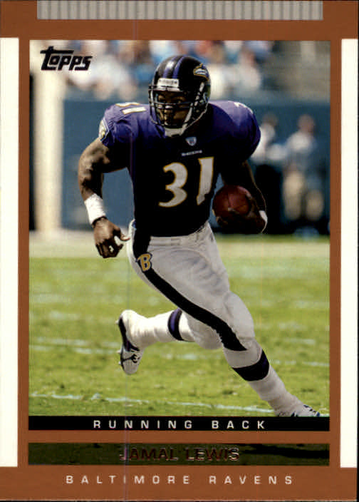 2003 Topps Draft Picks and Prospects #37 Jamal Lewis