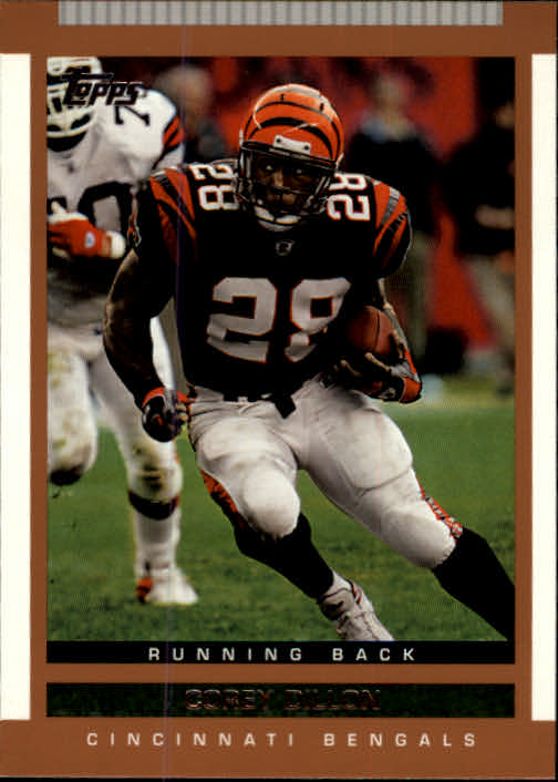 2003 Topps Draft Picks and Prospects #38 Corey Dillon