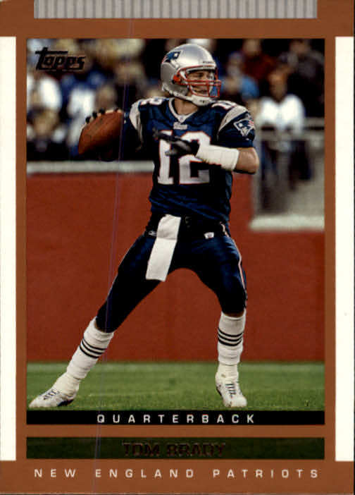 2003 Topps Draft Picks and Prospects #55 Tom Brady