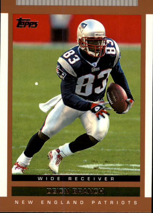 2003 Topps Draft Picks and Prospects #68 Deion Branch