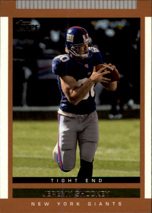 2003 Topps Draft Picks and Prospects #69 Jeremy Shockey