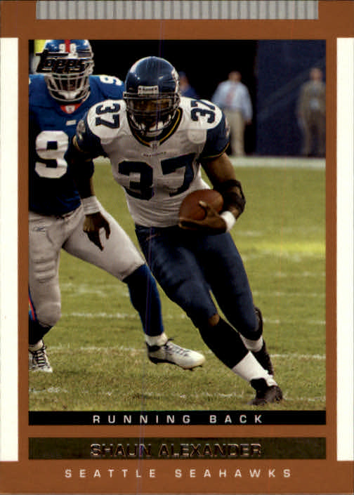 2003 Topps Draft Picks and Prospects #70 Shaun Alexander