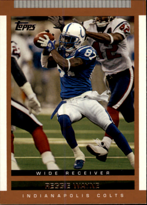 2003 Topps Draft Picks and Prospects #73 Reggie Wayne