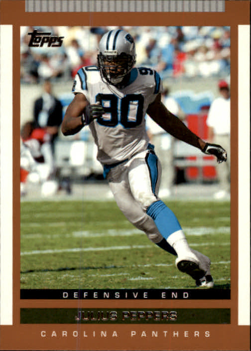 2003 Topps Draft Picks and Prospects #75 Julius Peppers