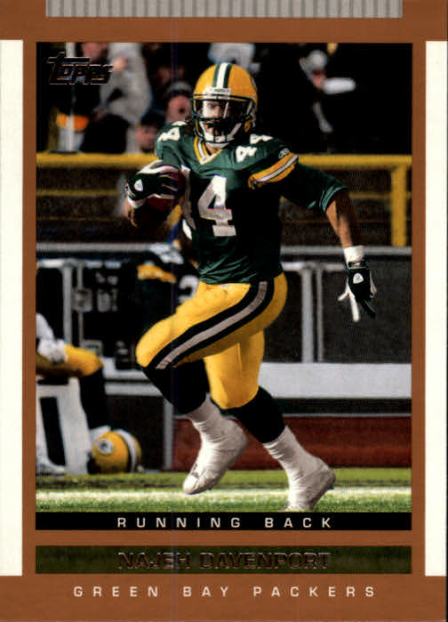 2003 Topps Draft Picks and Prospects #88 Najeh Davenport