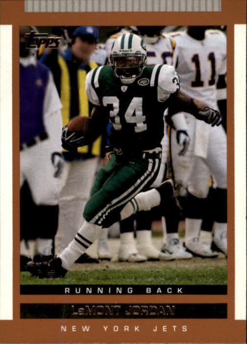 2003 Topps Draft Picks and Prospects #93 LaMont Jordan