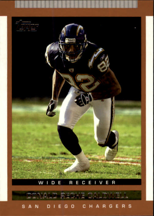 2003 Topps Draft Picks and Prospects #101 Reche Caldwell