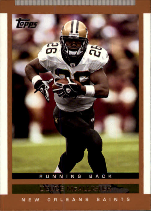 2003 Topps Draft Picks and Prospects #103 Deuce McAllister