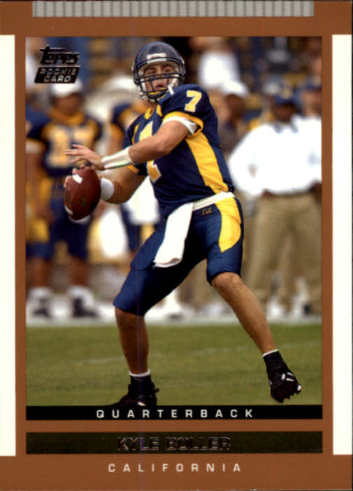 2003 Topps Draft Picks and Prospects #113 Kyle Boller RC