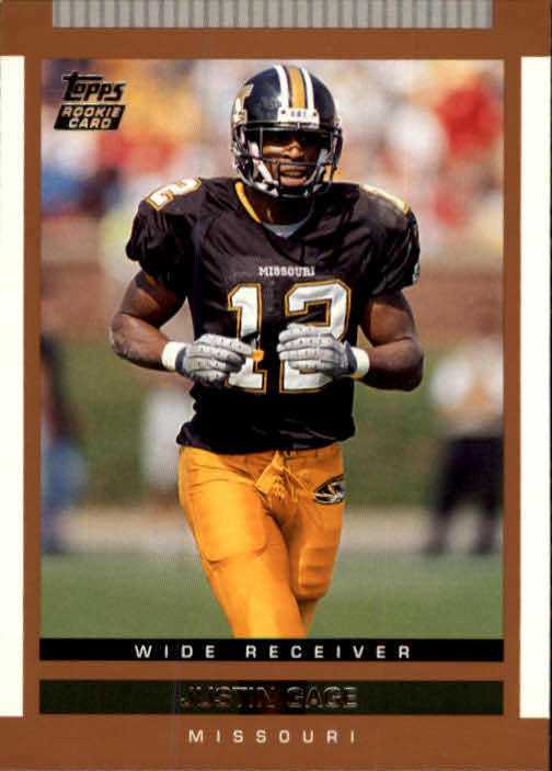 2003 Topps Draft Picks and Prospects #116 Justin Gage RC