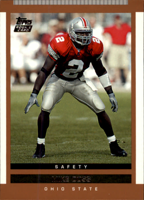 2003 Topps Draft Picks and Prospects #128 Mike Doss RC