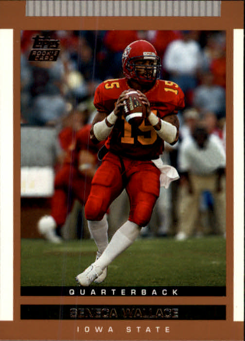 2003 Topps Draft Picks and Prospects #129 Seneca Wallace RC