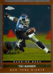 2003 Topps Draft Picks and Prospects Chrome #5 Tiki Barber