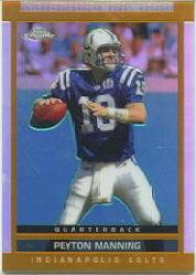 2003 Topps Draft Picks and Prospects Chrome #10 Peyton Manning