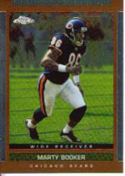 2003 Topps Draft Picks and Prospects Chrome #12 Marty Booker